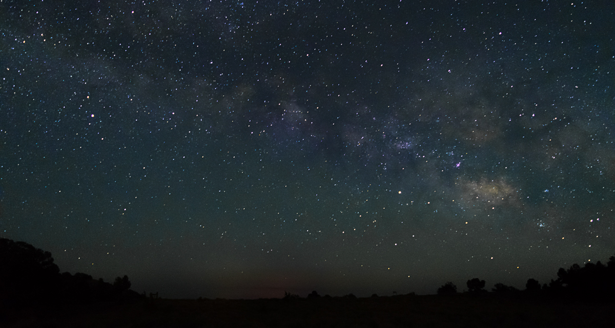 View of the Milky Way from Grandview