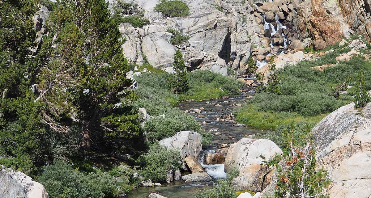 Palisade Creek above the Golden Staircase