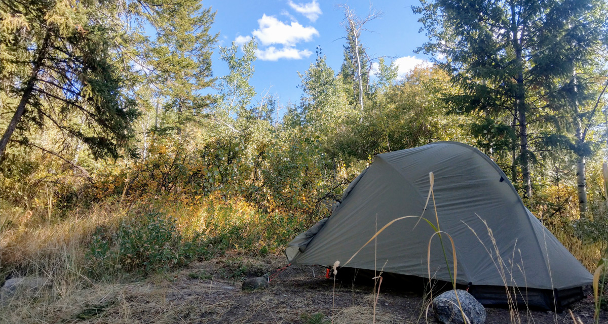 Campsite at Fremont Lake Campground