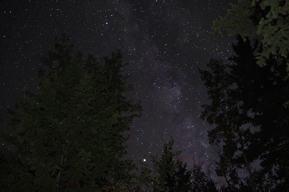 Milky Way from Pinedale, Wyoming
